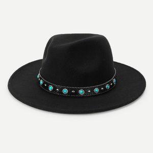 Flat Brim Panama Hat